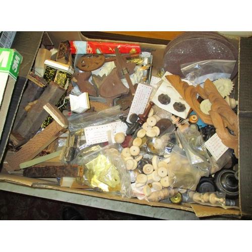 297 - A quantity of clock parts and tools Location: G...