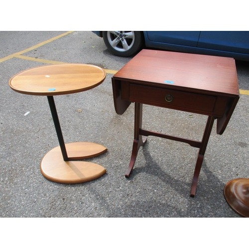 318 - A group of four tables to include a sofa table and three lamp tables Location: RAM...