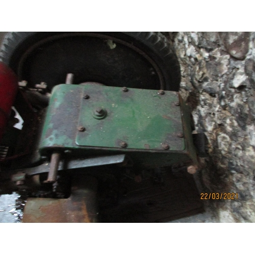 126 - An Allen scythe with a Villiers engine Location: G...