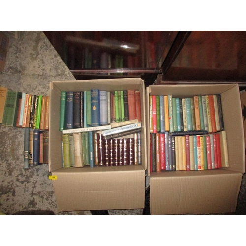 46 - Books - A collection of hardback books, mainly published by Readers Union, in two boxes Location: G...