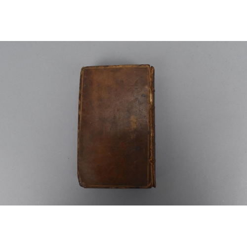 166 - John Milton. Paradise Lost: A Poem in Twelve Books, 1764, London, in tooled leather binding, 17.5 cm...