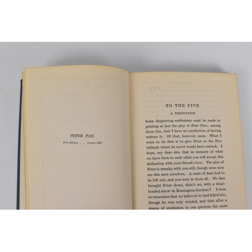 192 - J.M Barrie. Peter Pan or The Boy who Wouldn't Grow Up, first edition, 1928, published by Hodder and ...