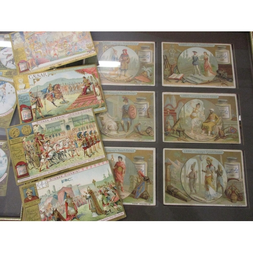 9 - A collection of sixty early 20th century Liebig advertising collectors cards to include Astrology.  ...