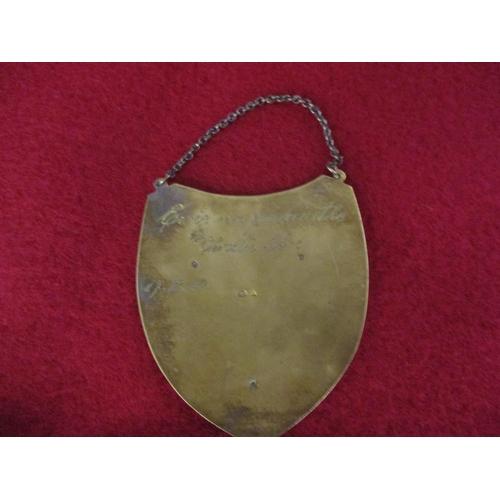 15 - A Russian silver gilt plaque Location: Cab...