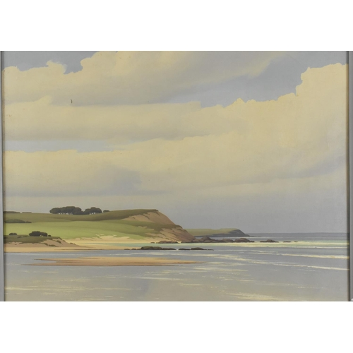 57 - Pierre de Clausade (1910-1976) French a French coastal scene, signed lower right, oil on canvas, wit...