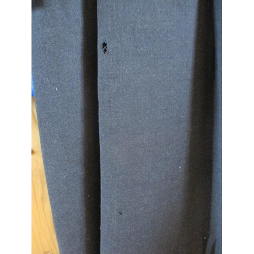5 - Three items of vintage designer clothing comprising a late 1950's Ravir of London black formal dress...