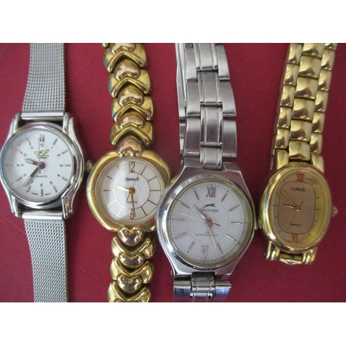 32 - A collection of modern fashion watches to include Casio, Seiko and Guess Location: Porters