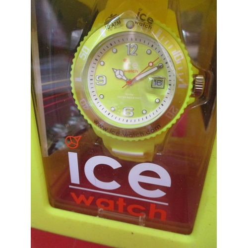 33 - Three watches to include Ice, and DKNY Location: Porters...
