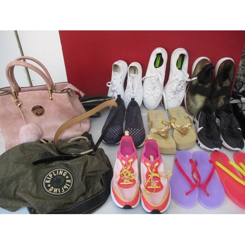 37 - Two pairs of Converse, one size 11 men's and the other unisex UK size 3, together with mixed shoes a...