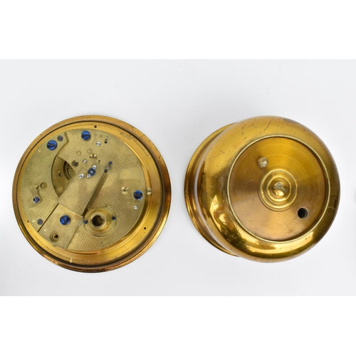 49 - Marine chronometer parts to include a Kelvin White & Hutton part chronometer numbered 5898 with 4
