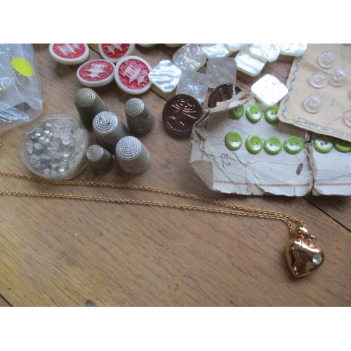 17 - ***This lots has been withdrawn*** A quantity of Artid Pagoda buttons in various colours together wi...