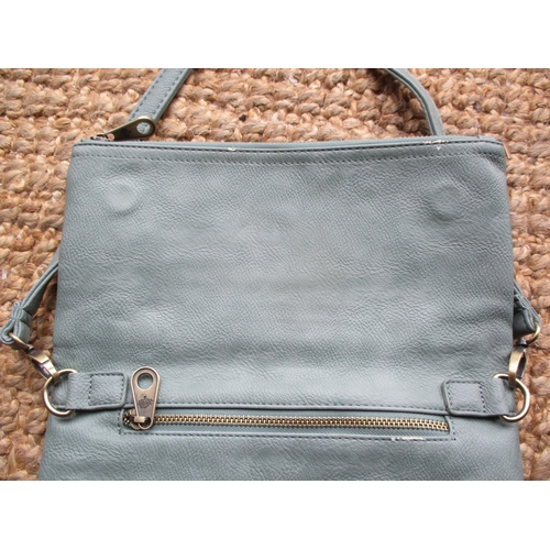 45 - Two Mulberry occasional leather bags, one a small black leather shoulder bag with adjustable strap, ...