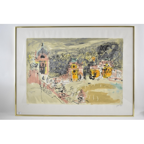 14 - John Piper (1903-1992), Harlaxton Hall, limited edition lithograph, signed and numbered 21/90 in pen...