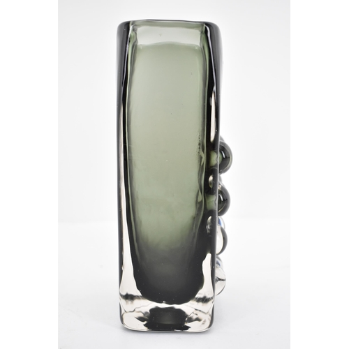 32 - A Whitefriars mobile phone vase by Geoffrey Baxter, 16cm h