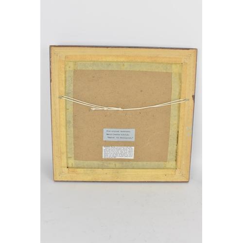 4 - Harold Dearden (1888-1962)  An oil on board entitled 'Sketch the Needlepoint', 27.5 x 26cm, framed, ...