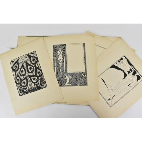 9 - Aubrey Beardsley (1872-1898) - Illustrations to Salome, portfolio with seventeen illustrations for S...