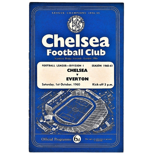 28 - Chelsea v Everton 1960 October 1st League...