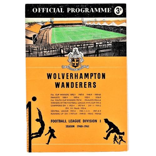51 - Wolverhampton Wanderers v Chelsea 1960 December 31st League...