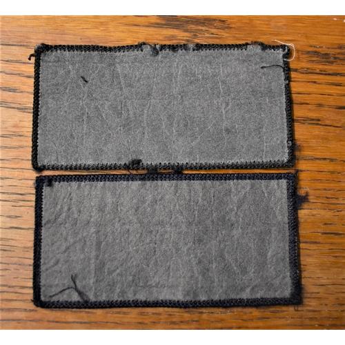 59 - Metropolitan Police Cloth Pullover Patches (2) EIIR Crown...