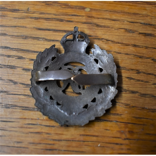 255 - Royal Engineers WWII Officers Cap Badge (Bronze, tab fitting), K&K: 1941....