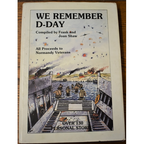 416 - We Remember D-Day, compiled by Frank and Joan Shaw, with all original 1994 inserts and leaflets insi...