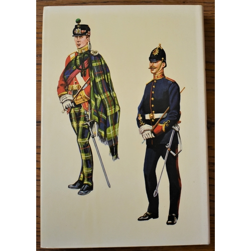 480 - Infantry Uniforms including Artillery and Other Supporting Corps and the Commonwealth 1855-1939 by R...