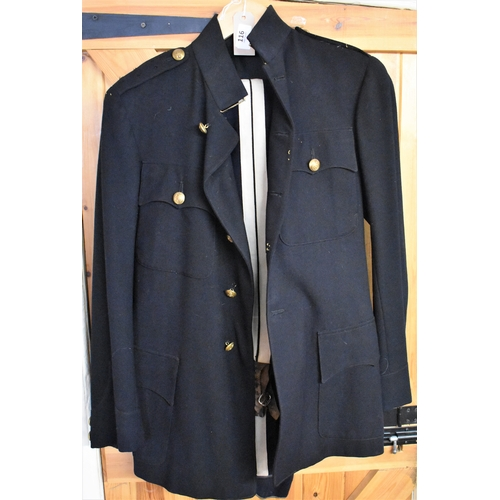 116 - WWII Royal Army Service Corp No.2 Service Dress, brass buttons and small size....