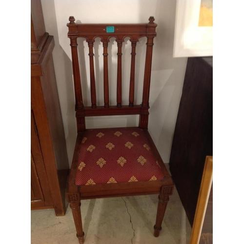 55 - Hardwood Occasional Chair...