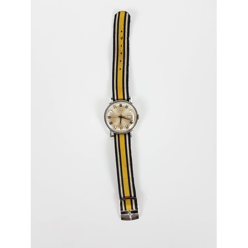 17 - A Vintage 1960's Self Winding Watch In Full Working Order....