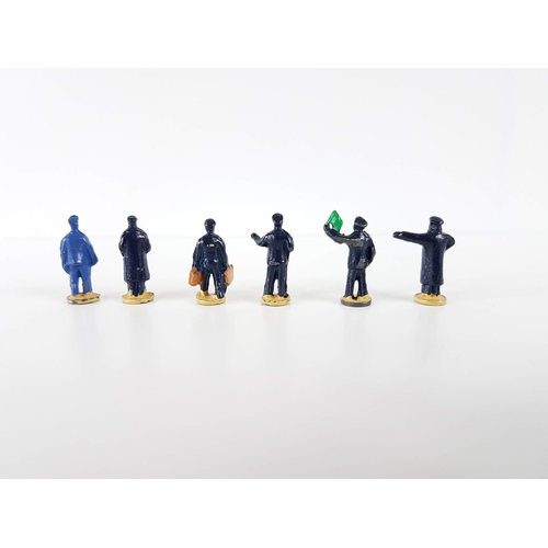 5 - A Boxed Dinky Toys 051 OO Gauge Station Staff Figures - In Excellent Condition....