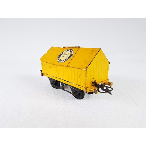 52 - A Hornby Series O Gauge By Meccano Tin Plate Portland Blue Circle Cement Wagon....