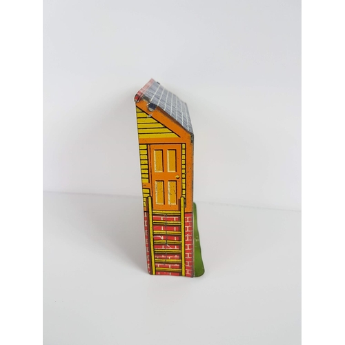 61 - A Hornby Series O Gauge By Meccano Tin Plate Low Relief Signal Box - In Good Condition....