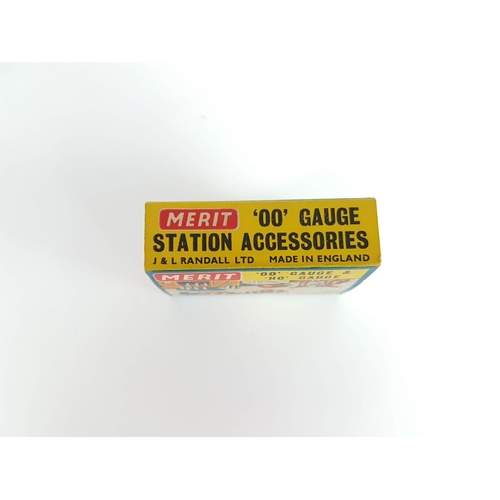 71 - Boxed Merit OO Gauge Horse & Ponies Station Accessories  - In Excellent Condition....