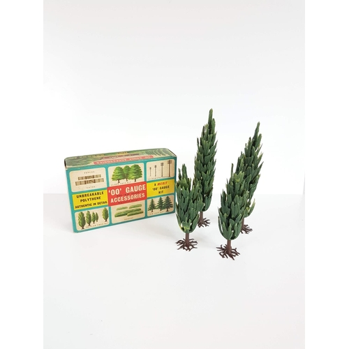 73 - Boxed Merit OO Gauge Poplar Tree Railway Accessories - In Excellent Condition....