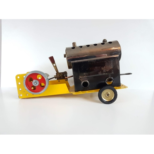 74 - A Vintage Meccano Mamod Steam Engine - In Full Working Order & Great Condition....