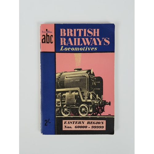 32 - Ian Allan ABC  British Railway Locomotives Eastern Region Nos 60000 - 99999 Summer 1953....
