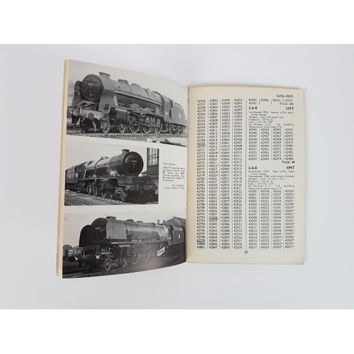 33 - Ian Allan ABC  British Railway Locomotives London Midland Region Nos 40000 - 59999 ....