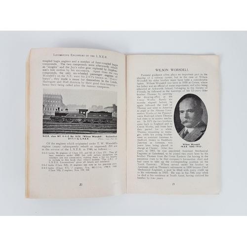 34 - Ian Allan ABC  Locomotive Engineers Of The LNER 1946....