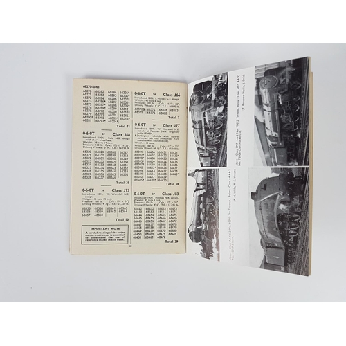 35 - Ian Allan ABC  British Railways Locomotives Eastern Region 60000 - 90999....