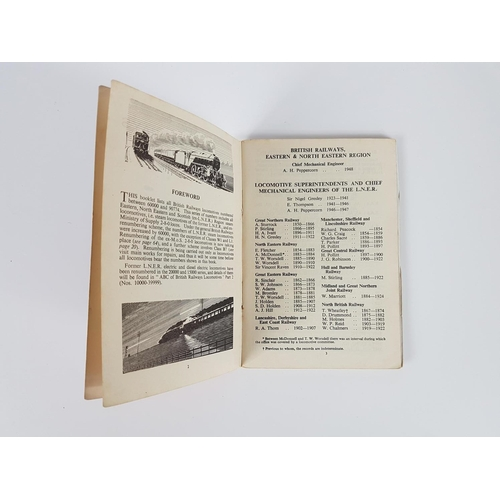 36 - Ian Allan ABC  British Railways Locomotives Eastern & NE Regions 60000 - 90999....