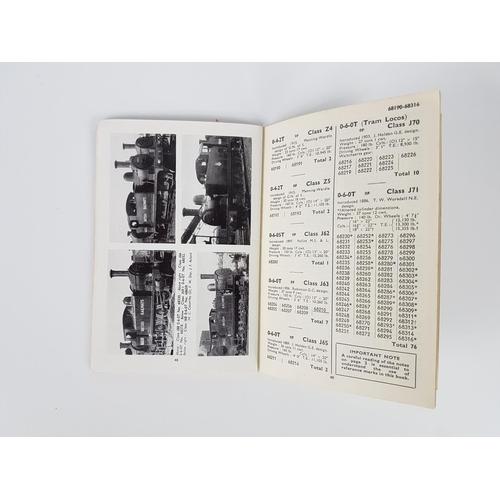 37 - Ian Allan ABC  British Railways Locomotives Eastern Region 60001 - 90774....