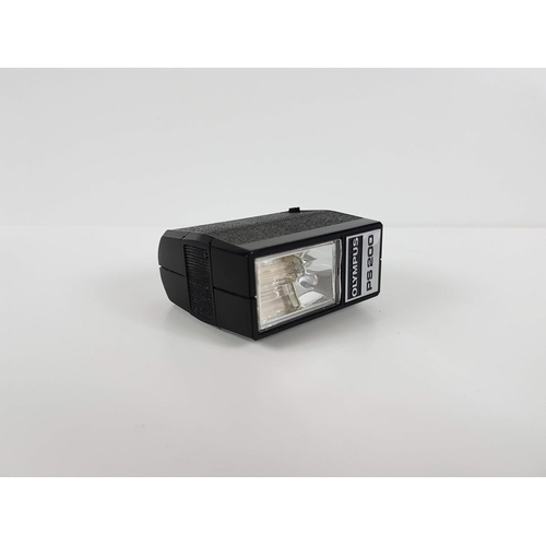 95 - A Cased Olympus PS200 Camera Flash....