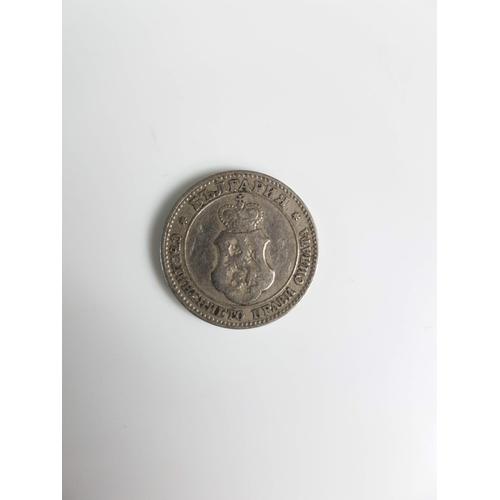 103 - A 1906 Silver Bulgaria 20 Stotinki Coin....