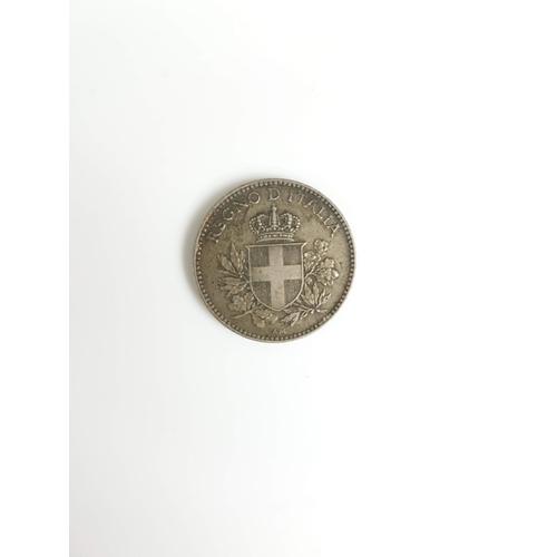 104 - A 1918 Silver Italian 20 Cent Coin....