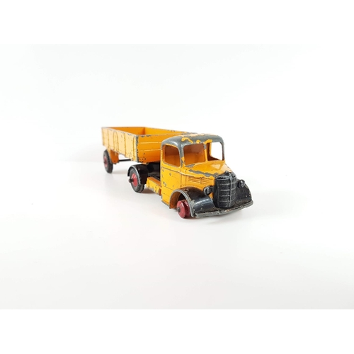 107 - A Dinky Toys 921 Bedford Articulated Lorry - In Playworn Condition....