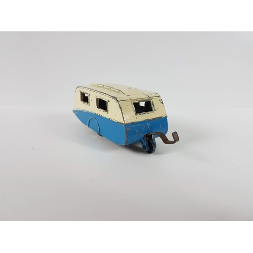 113 - A Dinky Toys 190 Caravan - In Playworn Condition....