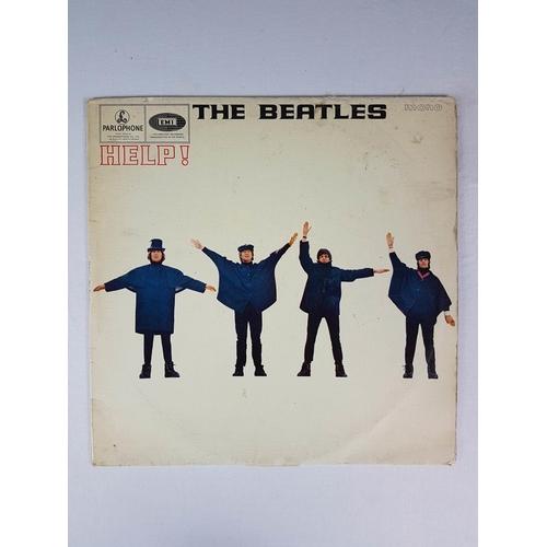 15 - The Beatles Help Twelve Inch Vinyl Record Album, Parlophone EMI Mono PMC 1255 - Matrix No XEX550-2....