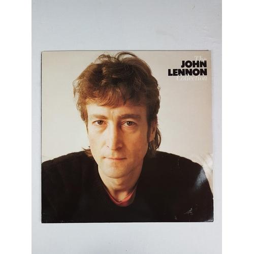 19 - John Lennon The John Lennon Collection Twelve Inch Vinyl Record Album EMI Parlophone Lenono Music - ...