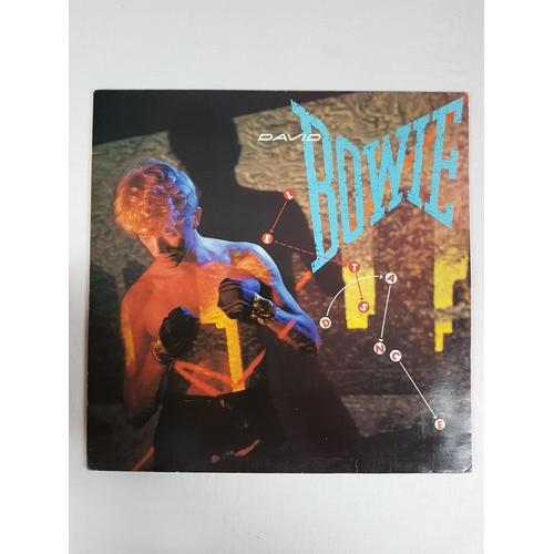 20 - David Bowie Lets Dance Twelve Inch Vinyl Record Album EMI America  AML3029....