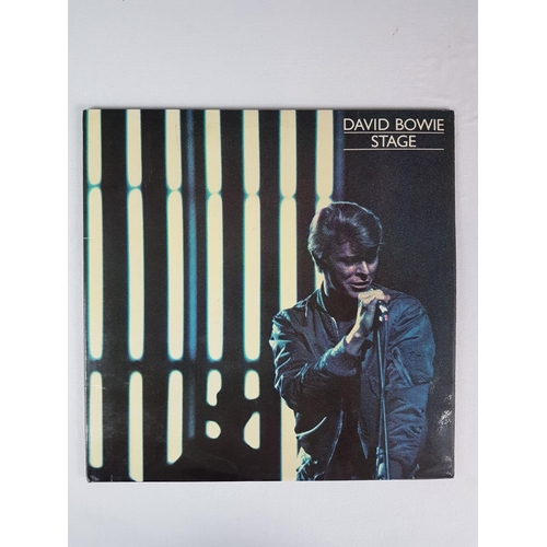 23 - David Bowie Stage Twelve Inch Record Double Album Vinyl Record, RCA PL02913(2)....